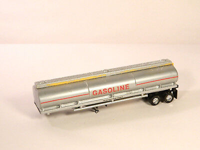 HO 1:87 Plastic Truck Trailer CUSTOM MADE GASOLINE TANKER TRAILER Painted