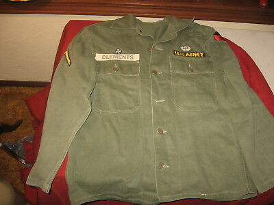Vietnam War Named Shirt Army Patches Paratrooper Airborne Nr