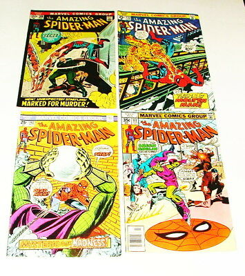 % 1970's The Amazing Spider-Man  Comic Book Collection Lot H-17