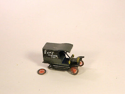 HO 1/87 Plastic Vehicles BUILT Jordan Highway Miniatures 1920s FORD DELIVERY VAN