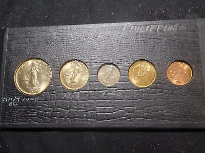 INV #S158 Philippines 1958 5 Coin Mint Set