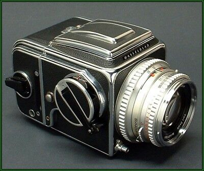 1975 HASSELBLAD 500 C/M camera with Planar 80mm f/2.8 lens and more!!