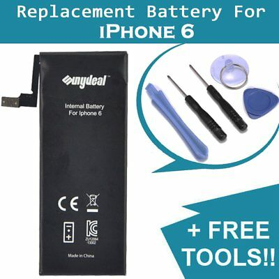 Sunydeal NEW Replacement For iPhone 6 Battery 1810 mAh (Free Tools + KIT)