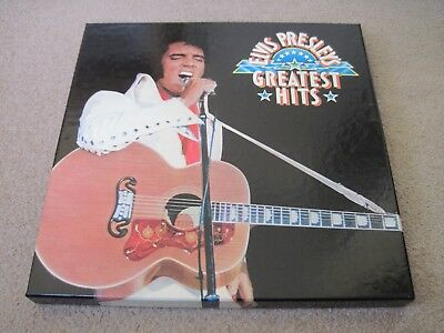 EVIS PRESLEY Greatest Hits READERS DIGEST 7 LP BOX & INSERTS near mint
