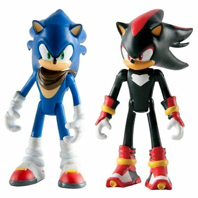 Sonic Boom 2 Figure Pack - Sonic and Shadow 3 Inch Figures  *BRAND NEW*