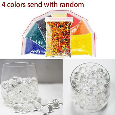10000Pcs Colorful Crystal Mud Soil Water Beads Jelly Gel Ball Flower Plant