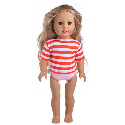2017 New design Striped coatee  For 18 Inch American Girl Doll n1271