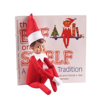 Elf On The Shelf 35cm Elf Doll And Book Kids Christmas Toy games Elf