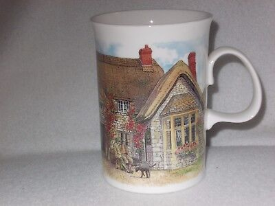 "Dunoon  ""country Inns'"" Richard Partis Design Fine Bone China Mug"