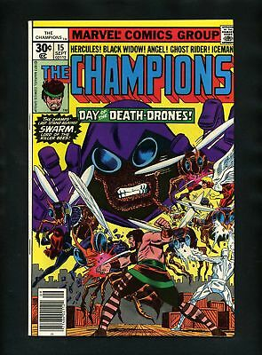 Champions #15 FN 1977 Marvel Comic Book