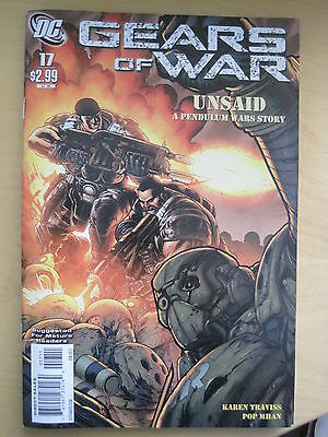 GEARS of WAR 17. BASED ON THE VIDEO GAME. By TRAVISS & MHAN. DC / WILDSTORM 2011