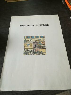 Jacques Martin Hommage A Herge 4 Planches