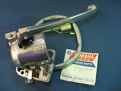 Genuine Yamaha Ty50 Right Switchgear Brake Lever Handlebar Switch Assembly - New