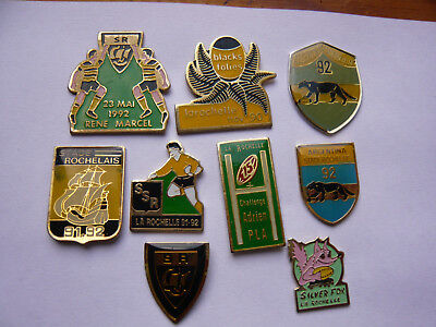 lot 9 pin s rugby LA ROCHELLE different