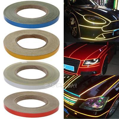 Motorcycle Truck Safety Mark Reflective Strip Sticker Self Adhesive Warning Tape