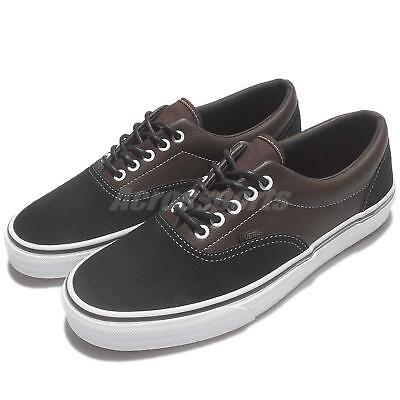 Vans Era Suede Leather Black Brown Men Skate Boarding Shoes Sneakers 63010209