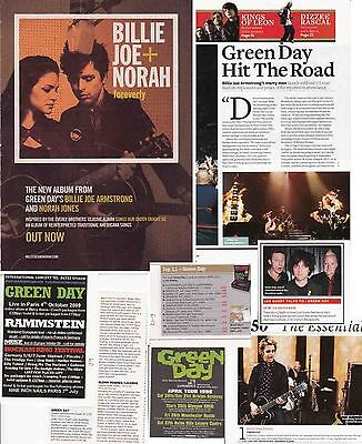 GREEN DAY : CUTTINGS COLLECTION -adverts-