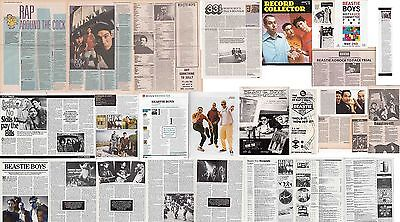 BEASTIE BOYS : CUTTINGS COLLECTION  -interview-
