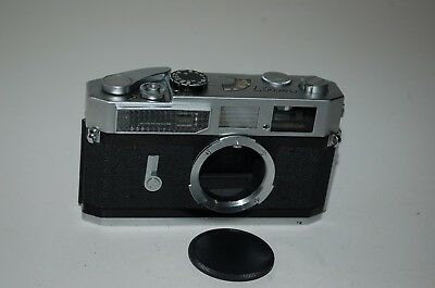 Canon-7 Vintage Japanese Rangefinder Camera. Serviced. 858447. UK Sale