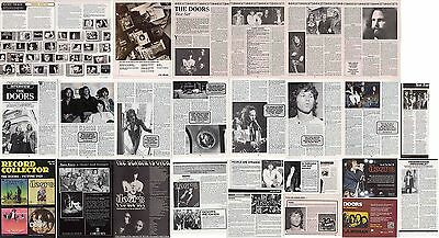 THE DOORS : CUTTINGS COLLECTION -interviews adverts-