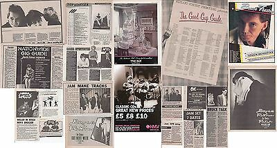 THE JAM : CUTTINGS COLLECTION -adverts etc-