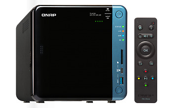 NEW! Qnap Ts-453B Nas Tower Ethernet Lan Black TS-453B-4G/16TB-RED