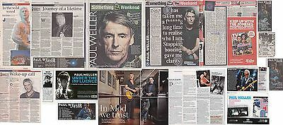 PAUL WELLER : CUTTINGS COLLECTION -interviews-