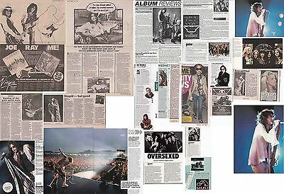 AEROSMITH : CUTTINGS COLLECTION -interviews adverts-