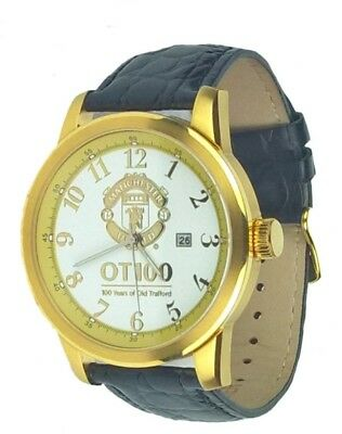 NEW Rare LTD EDT  MANCHESTER UNITED 100 Years  OLD TRAFFORD Wrist Watch Mens 71