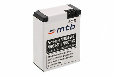 Batteria AHDBT-301 per GoPro Hero3 HD Black, White & Silver Edition