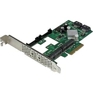 NEW! Startech 2 Port Pci Express 2.0 Sata Iii 6Gbps Raid Controller Card W/ 2 Ms