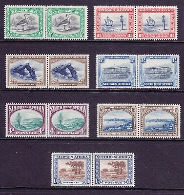 South West Africa 1931 to 1/- MNH