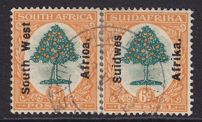 South West Africa 1927 6d.  SG47 used CV> £35