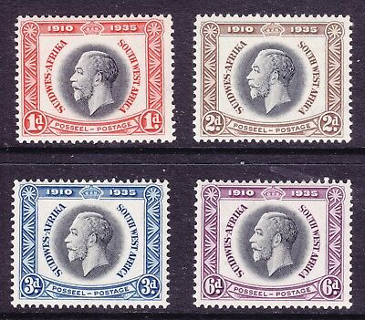 South West Africa - 1935 Silver Jubilee MLH