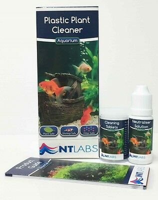 Nt Labs Plastic Plant Cleaner Also Cleans Aquarium Ornaments