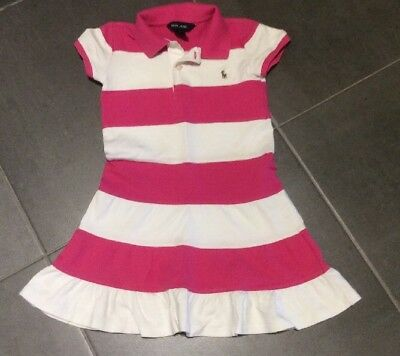 Girls Ralph Lauren T-Shirt Dress Age 6 Years