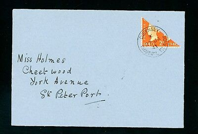 1941  (27 Jan)  2d Orange Bisect Cover Posted during Occupation WWII  (O1311)