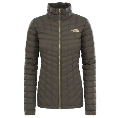 The North Face W Thermoball Full Zip Jacket new taupe green Primaloftjacke