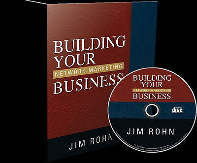 Jim Rohn Audio CD Building Your Network Marketing Business Brand NEW LOT OF 100