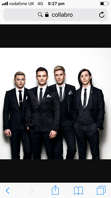 Collabro Tickets x 2 Bexhill on Sea