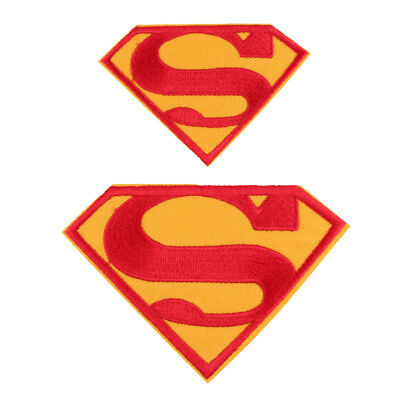 2pcs The Superman Iron/Sew ON Embroidered Patch Free shipping