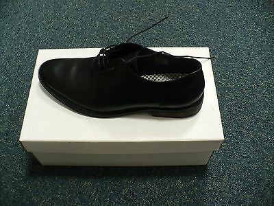 Greenwoods Brand New In Box Black Leather Formal Men's Shoes Size 8