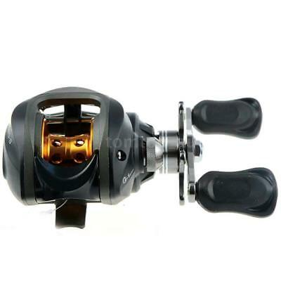 10BB 6.3:1 Right/Left Hand Bait Casting Fishing Bait Reel 9Ball Bearings L3O5