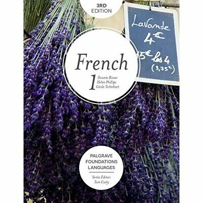 Foundations French 1 (Palgrave Foundations Languages) - Paperback NEW Dounia Bis