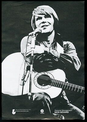 1976 Glenn Campbell photo Capitol records trade booking ad