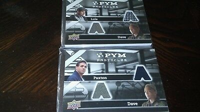 2015 Upper Deck Marvel LUIS/DAVE DUAL RELIC CARD