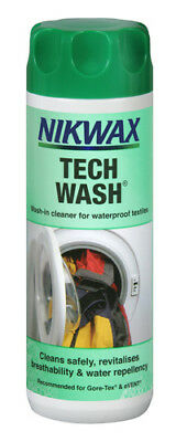 Nikwax Tech Wash - Wet Weather Clothing & Equipment Cleaner Sqsp