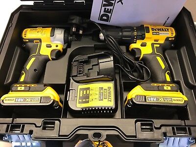 Dewalt DCK2059D2T 18V Li-ion XR Cordless Brushless Twin Kit NEW TOOL KIT