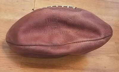 Vintage Early Wilson Intercollegiate WR Official Leather Football