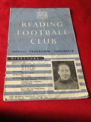 Reading  V. Doncaster Rovers 1949-1950 Fa Cup Third Round